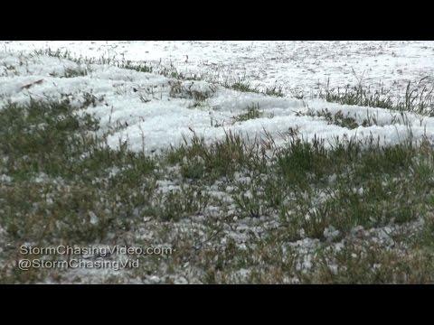 Lelia Lake, TX Heavy Hail & Severe Storm - 4/16/2016