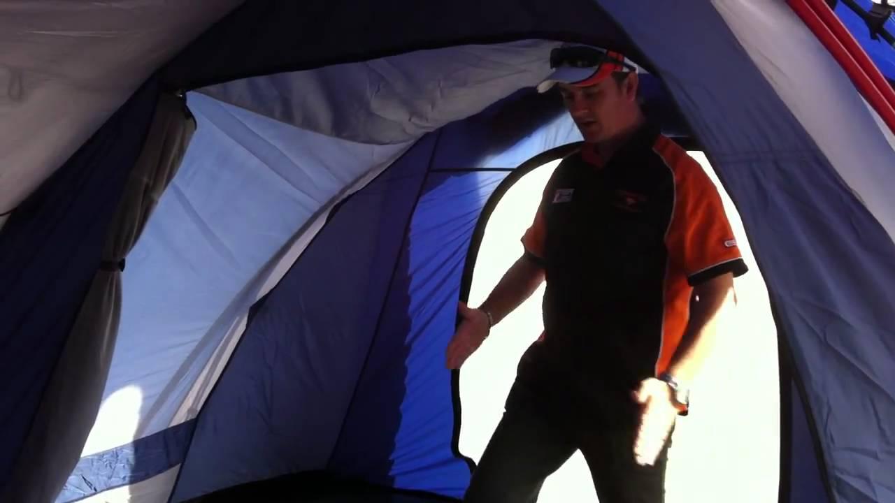 Australiau0027s best tents - Diamantina Escape Trio Dome Tent - Internal design features & Australiau0027s best tents - Diamantina Escape Trio Dome Tent ...