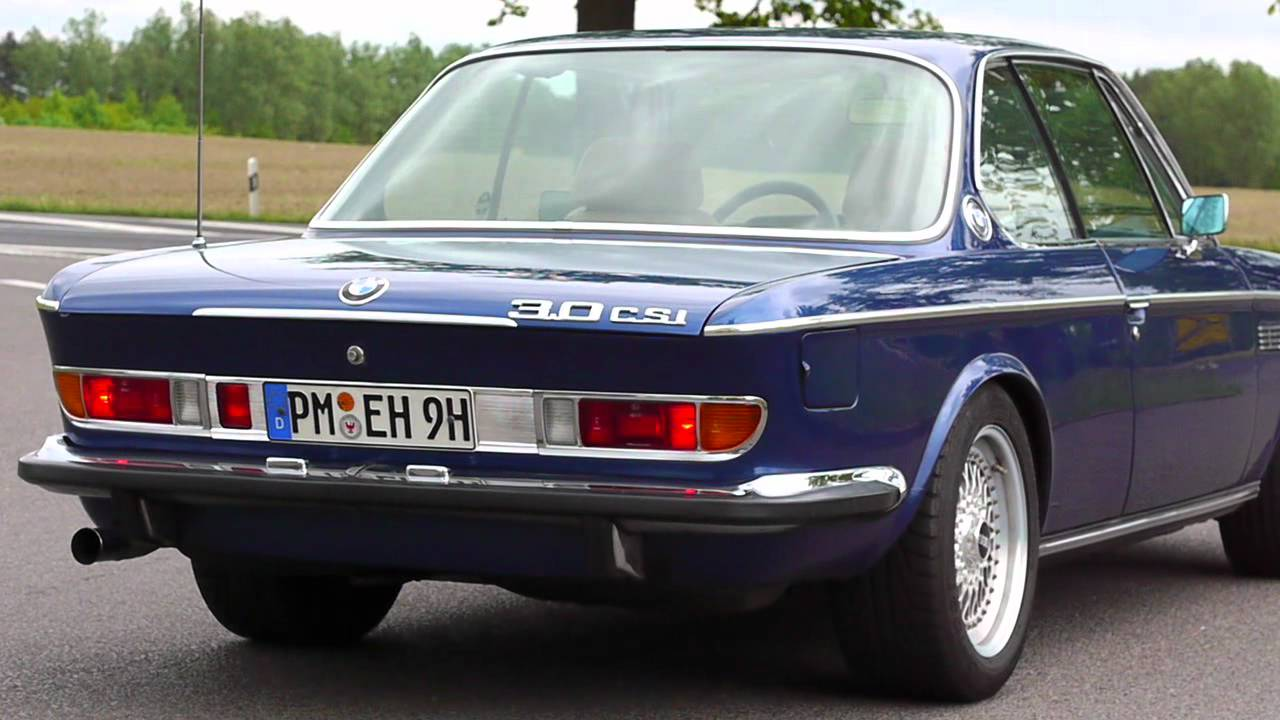Bmw E9 Coupe Youtube
