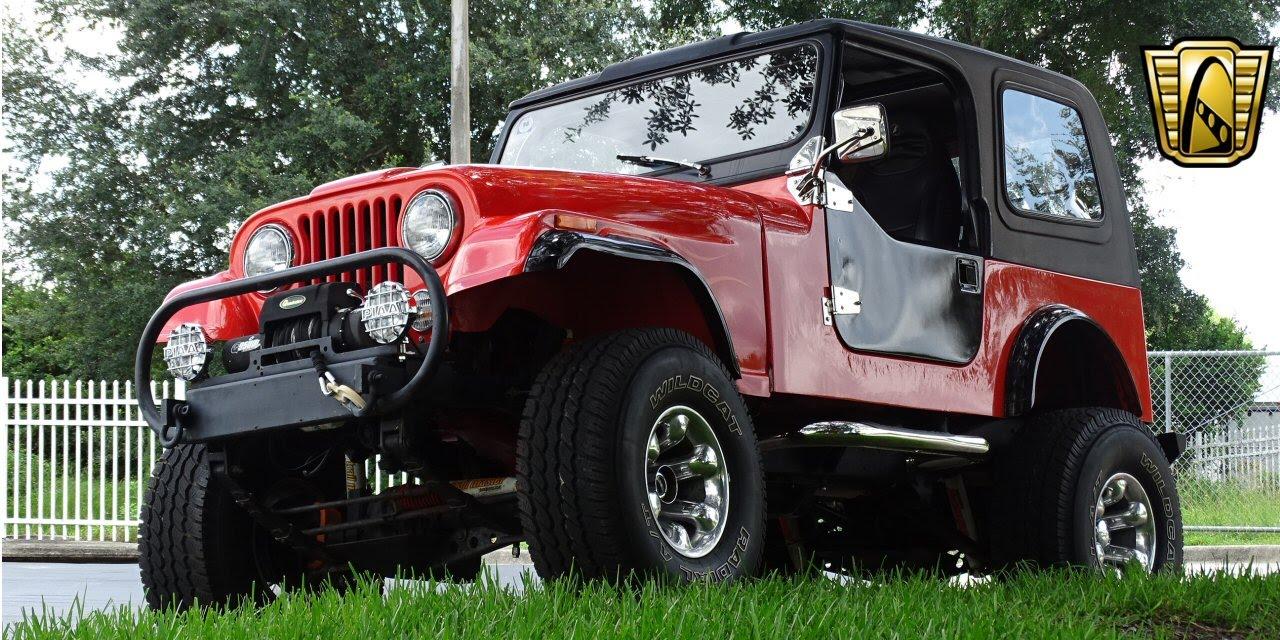 Jeep Cj Gateway Classic Cars Orlando Youtube