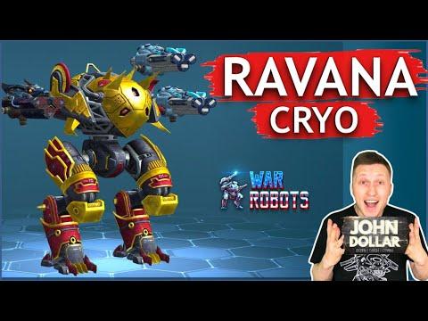 Боевые роботы - Ravana на Cryo! С Джоном Долларом!
