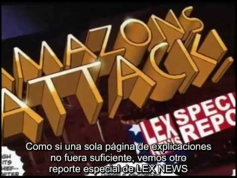 Linkara AT4W - 21 - Amazons Attack # 5 And 6 subs Español