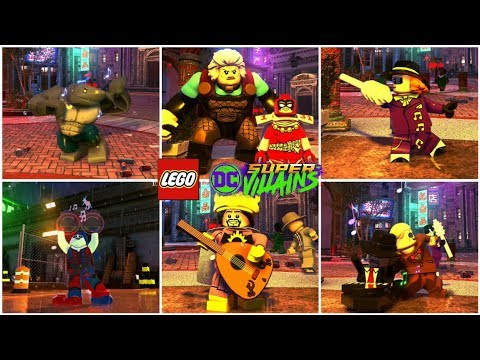 All Musical Characters in LEGO DC Super Villains (Bad Guy Bo