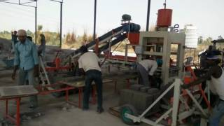Fly Ash Brick Making Machine & Concrete Block Making Machine from ENDEAVOUR-i