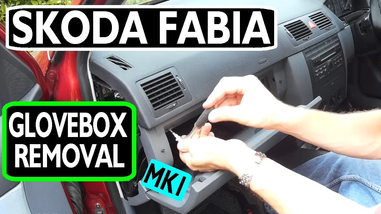 Skoda Fabia Glovebox Removal Youtube Estate Fuse Box