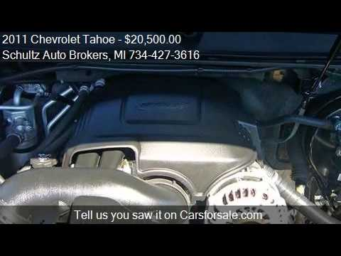 2011 Chevrolet Tahoe for sale in Livonia, MI 48150 at the Sc