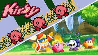 Evolution of Kirby's Victory Dance ᴴᴰ (1992 - 2018)