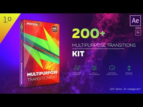 Multipurpose Transitions Kit - After Effects template - 동영상