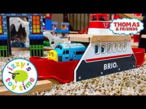 Thomas and Friends | Thomas Train BRIO FERRYSHIP! Fun Toy Trains  | Videos for Children