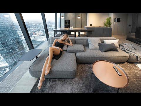 Дизайн квартиры за $1 000 000 в Москва-сити