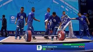 Samoan Weightlifter Vaipava Nevo Ioane Faints During IWF Competition