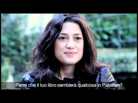 Fatima Bhutto's interview in italy