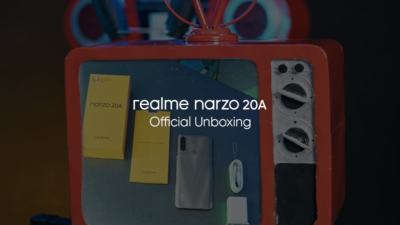 realme Narzo 20A | Official Unboxing