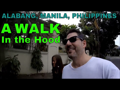 Philippines, Manila: Getting a Massage & Exploring the Hood (Part 2)