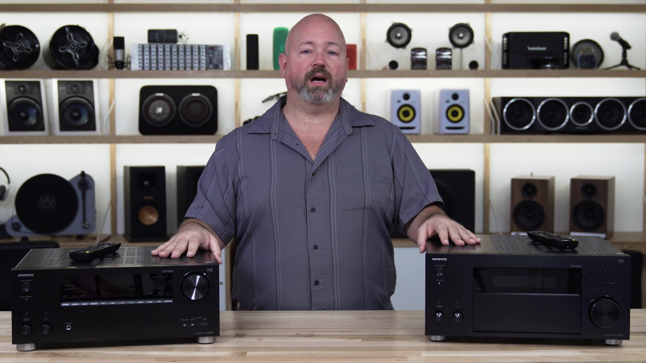 Onkyo RZ Series home theater receivers | Crutchfield video