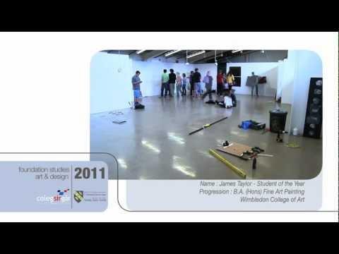 Coleg Sir Gar Foundation Studies : Art & Design - James Taylor.mov