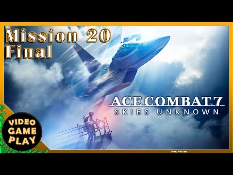 Ace Combat 7  Final  Mission 20  Gameplay Walkthrough - No commentary
