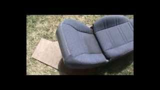 how to clean dirty car seats for cheap