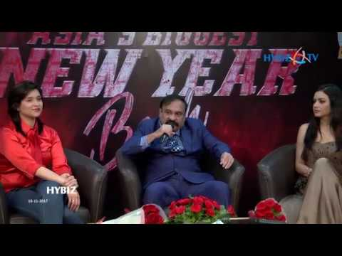Asia's Biggest New Year Bash 2018 across India by Country Club | Rajeev Reddy