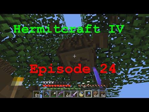 Hermitcraft 4 Ep24 Tree Hunt
