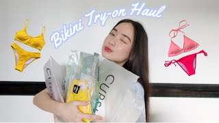 BIKINI TRY ON HAUL REVIEW Ft. Cupshe 🌞👙 | It's A