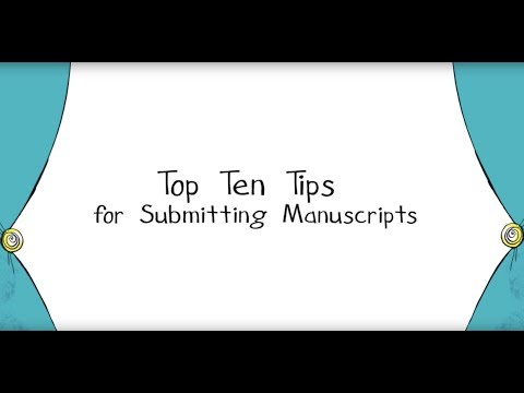 Top 10 Tips to Submitting a Childrens Picture Book Manuscript