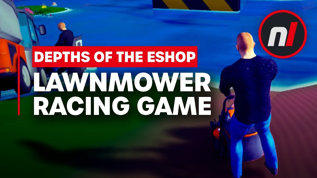 Two Lawnmower Games Just Came to Switch - How Bad Can They Be?