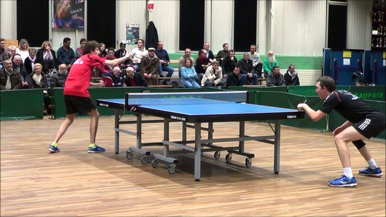 Tennis de table nationale 3 d ols reuilly janvier 2015 1 - Tennis de table poitou charente ...