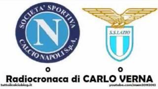 NAPOLI-LAZIO 0-0 - Radiocronaca di Carlo Verna (19/11/2011) da Radiouno RAI