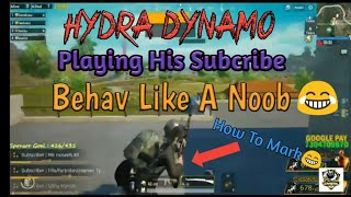 Daynamo Playing Hia Subcriber Behave Like A Noob Funny Match Ever | Gaming Lool