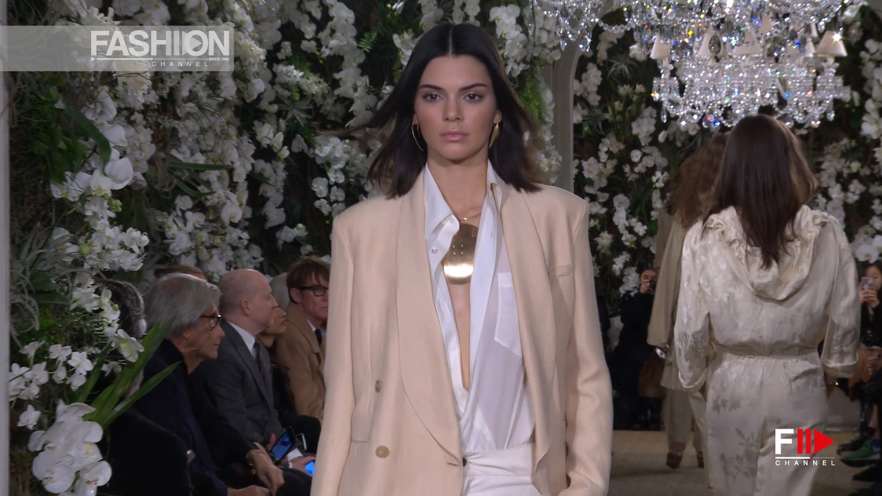 fae880a8b RALPH LAUREN FALL 2017-18 Runway-to-Retail collection full show - Fashion  Channel