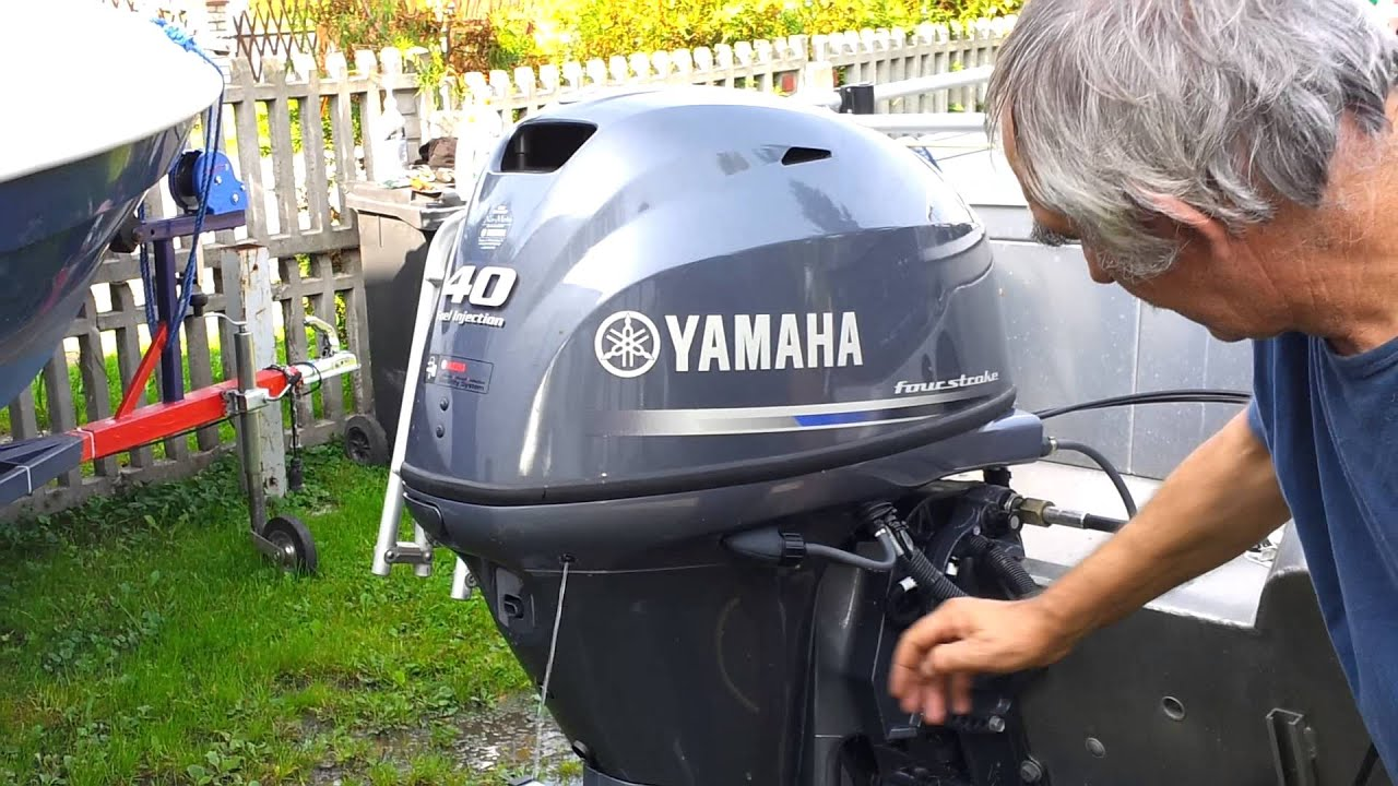 2013 yamaha f40 hp outboard motor 4 stroke 4 suw youtube for 30 hp yamaha outboard