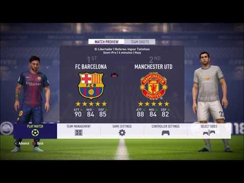 FIFA 18 Tactics - Johan Cruyff's Barcelona.