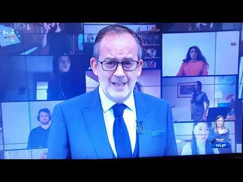 30Mar2020 José Alberto Carvalho - Jornal Das 8 - TVI