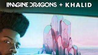 Khalid And Imagine Dragons amas Song | Thunder, Young Dumb & Broke 2017 | Hq Audio