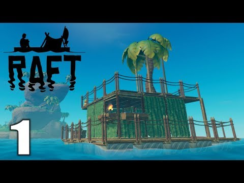 HUGE UPDATE! STEAM RELEASE!   Raft   Let's Play Gameplay   S02E01