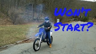 The RIGHT WAY to Start A Dirt Bike