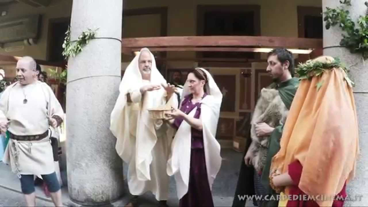 Matrimonio Stile Romano : Acqui terme matrimonio romano ligure youtube
