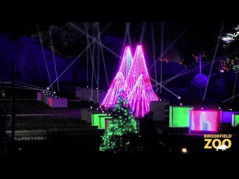 Charming Holiday Magic At Brookfield Zoo