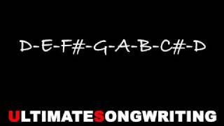Songwriting - How To Write a Song #1 -  Chords (www.UltimateSongwritingLessons.com)