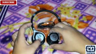 [Hindi - हिन्दी] Unboxing Of Motorola Pulse 2 SH005 Wired Headphone By Manik Singhal #MSTECHNO