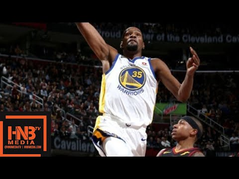 Cleveland Cavaliers vs Golden State Warriors 1st Half Highlights / Jan 15 / 2017-18 NBA Season