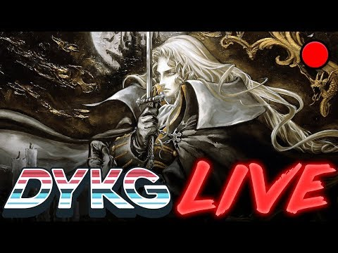 🔴 [09/06] DYKG2 Live: Castlevania: Symphony of the Night