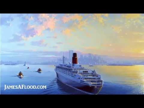 Historic Maritime Artist - Ocean Liners, Tall Ships and Ships of War | James A. Flood