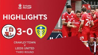 Crawley Town SHOCK Leeds In Huge Upset! | Crawley Town 3-0 Leeds United | Emirates FA Cup 2020-21