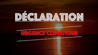 Déclaration d'urgence climatique – Principales conséquences