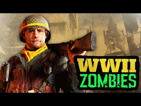 WORLDS FIRST COD WW2 ZOMBIES MAP IMAGE & CHARACTER STORYLINE INFO BREAKDOWN!!!