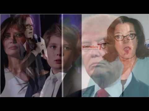 DONALD TRUMP TALK - DESPICABLE EVIL ROSIE CALLS 10 YEAR OLD BARRON TRUMP AUTISTIC