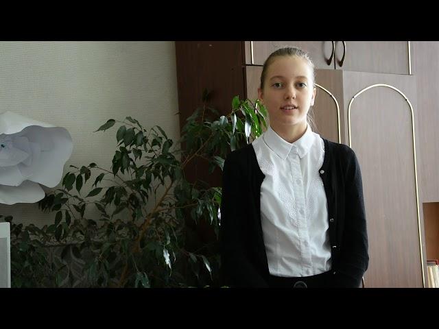 Изображение предпросмотра прочтения – АнастасияМельникова читает произведение «Мы временем умеем дорожить» Т.М.Зумакуловой