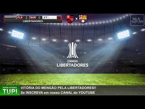 Flamengo 2 x 0 Barcelona-EQU - Libertadores - 2ª Rodada - 11/03/2020  -  AO VIVO